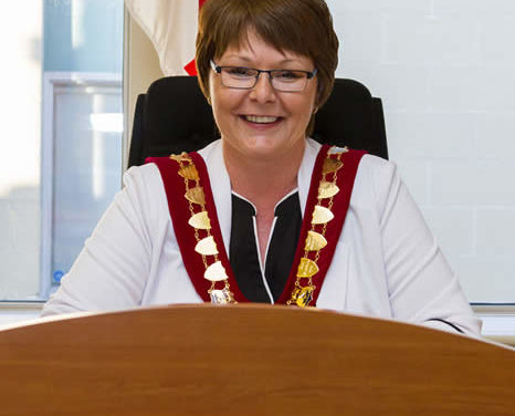 Campbellton Mayor Stephanie Anglehart-Paulin