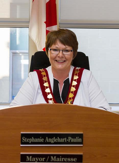 Campbellton Mayor Stephanie Anglehart-Paulin